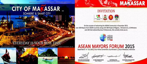 Asean Mayors Forum AMF Makassar 2015