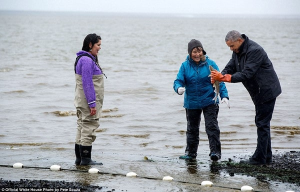Pete Souza/dailymail.co.uk